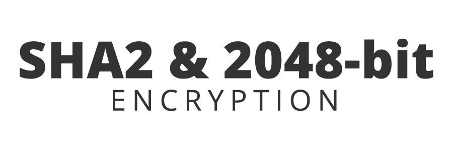 Protected with 2048-bit encryption